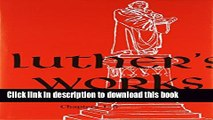 New Book Luther s Works Lectures on Genesis/Chapters 1-5 (Luther s Works) (Luther s Works