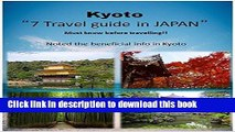 [PDF] Kyoto 7 Travel guide in JAPAN: Kyoto Famous Place to go in Japan. You have to visit this 7