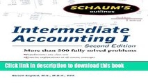 New Book Schaums Outline of Intermediate Accounting I, Second Edition (Schaum s Outlines)