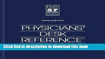 Collection Book Physicians  Desk Reference 2003 (Physicians  Desk Reference (Pdr))