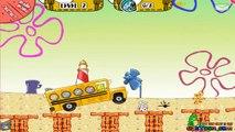 Spongebob School Bus GamePlay - School Bus Game For Kids