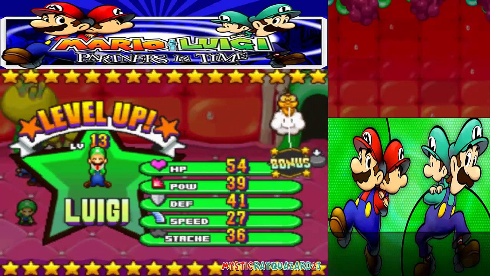 mario and luigi partners in time gameplay