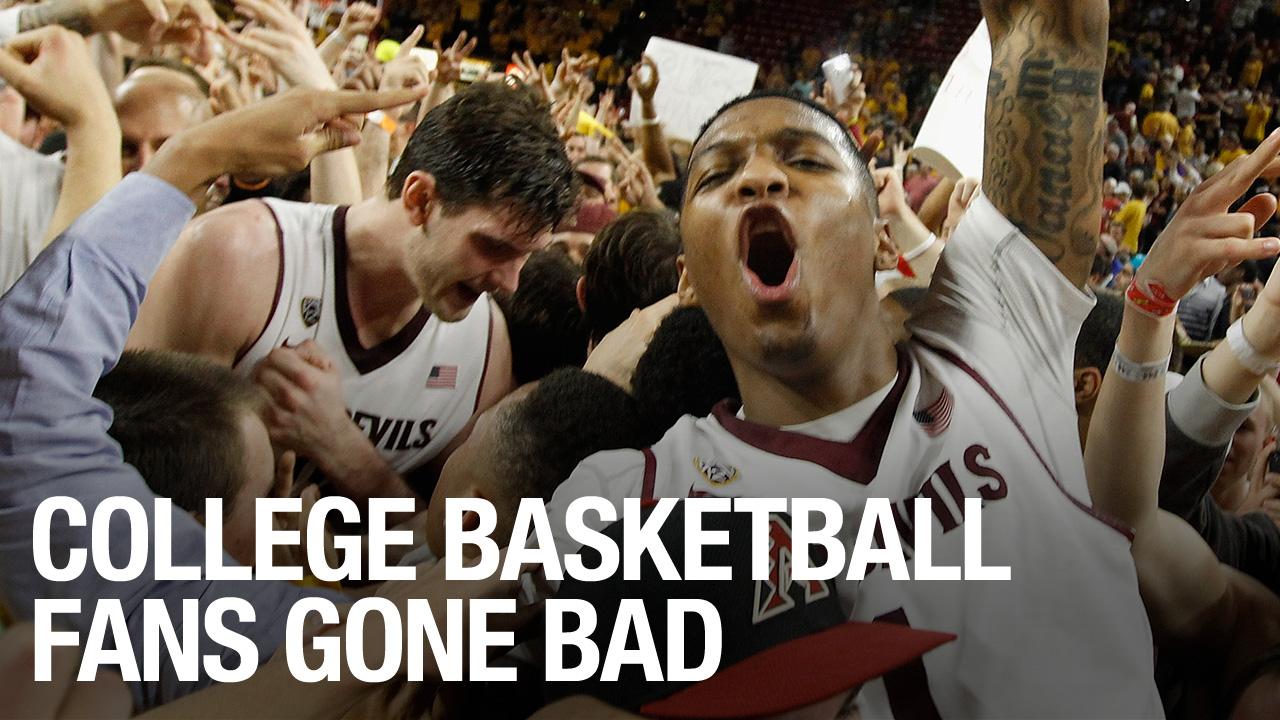 College Basketball Fans Gone Bad