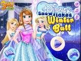 ►❤✿♛✿❤◄ Disney Snowflakes Winter Ball - Anna - Rapunzel - Elsa - Princess Gameplay ►❤✿♛✿❤◄