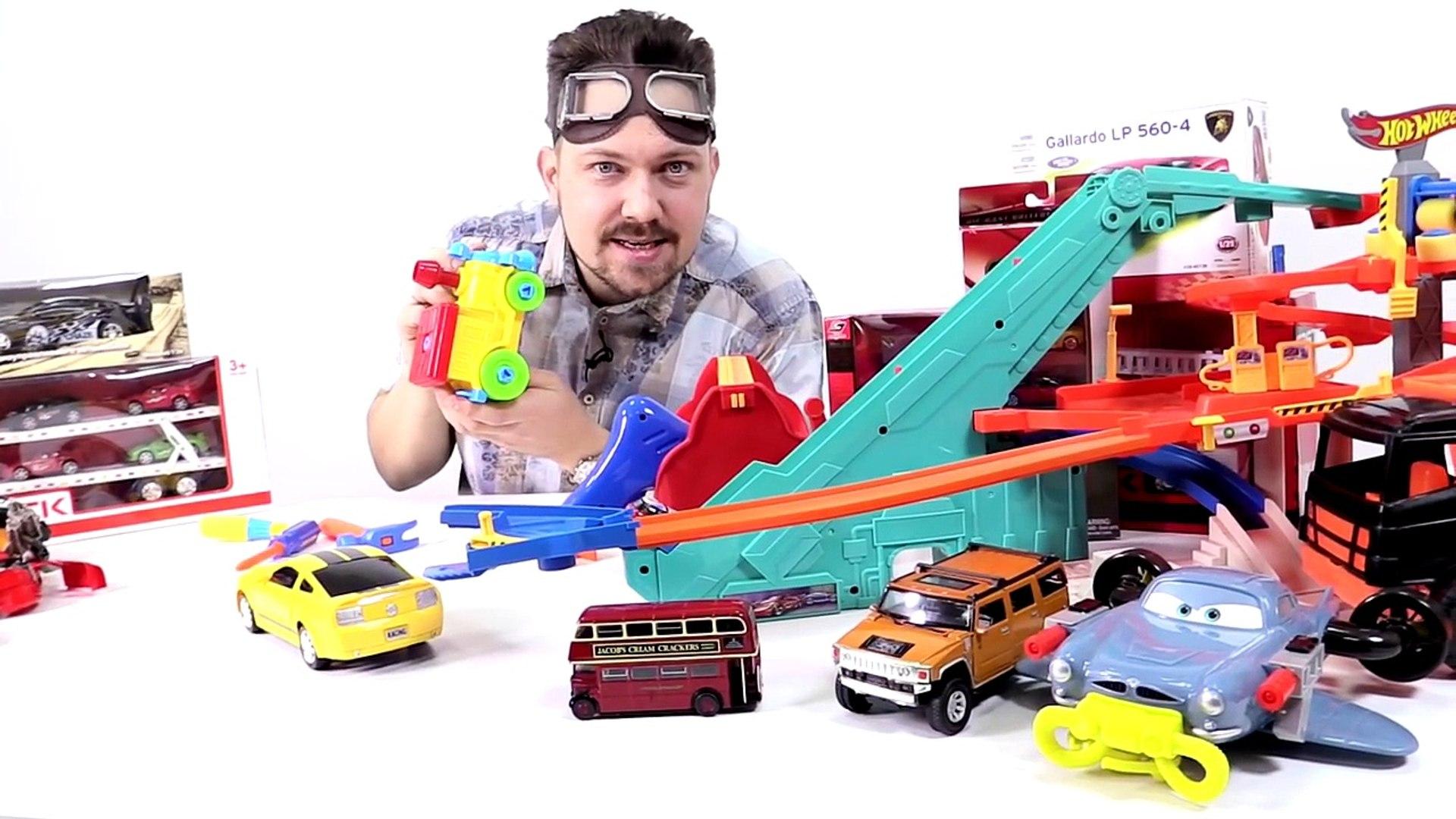 Машинки. Видео для детей: Гараж Алекса! Машина для Маши!