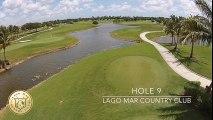 Lago Mar Country Club   Golf Course Hole 9