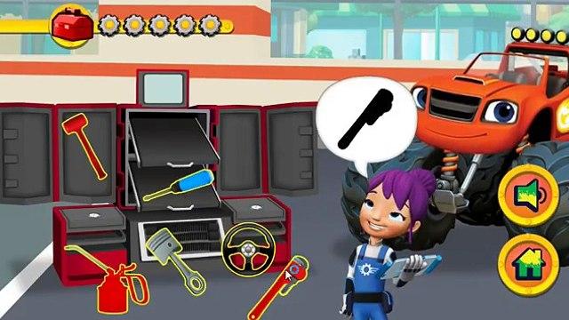 Blaze and the Monster Machines Nickelodeon - Blaze and the Monster Machines TUNE UP GAME!