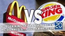 McDonald's se paye Burger King dans une nouvelle campagne de pub