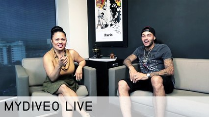 Don Benjamin Talks Moving, B-balling and Music - mydiveo LIVE! on Myx TV
