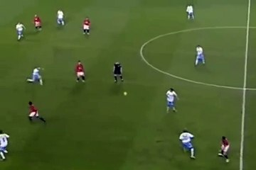 Cristiano Ronaldo's Amazing Assist To Wayne Rooney For Manchester United