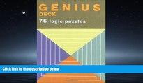eBook Here Genius Deck Logic Puzzles (Genius Decks)