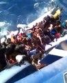 فيديو مريع  بحار تونسي يلتقط مشاهد غرق مهاجرين غير شرعيين على المباشر