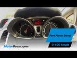 Ford Fiesta Diesel 0-100 km/hr   MotorBeam