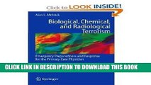 Ebook Biological, Chemical, and Radiological Terrorism: Emergency Preparedness and Response for
