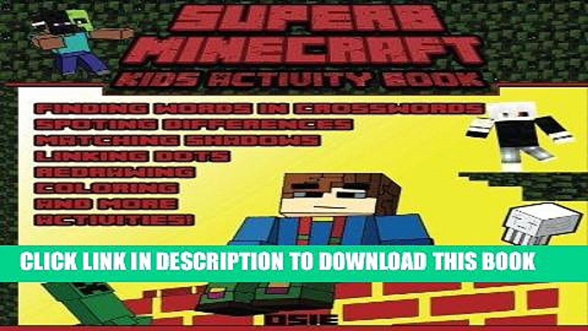 [PDF] Superb Minecraft: Kids Activity Book: Great Activity Book for Minecrafters (Minecraft