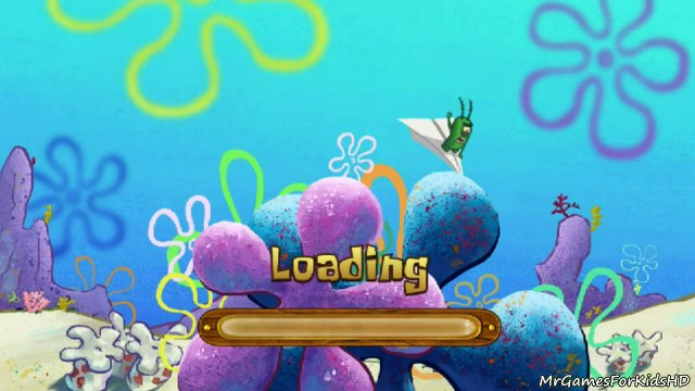 SpongeBob SquarePants Grand Sand Fortress Plankton Invasion Full Game