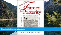 Deals in Books  Framed for Posterity: The Enduring Philosophy of the Constitution  Premium Ebooks