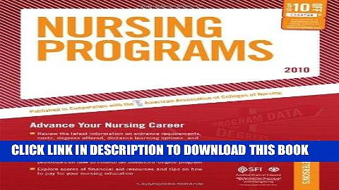Ebook Nursing Programs – 2010: Advance Your Nursing Career (Peterson s Nursing Programs) Free
