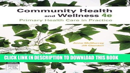 [FREE] EBOOK Community Health and Wellness: Primary Health Care in Practice ONLINE COLLECTION