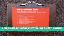 [FREE] EBOOK Designing For Social Change: Strategies for Community-Based Graphic Design (Design