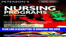 Best Seller Peterson s Guide to Nursing Programs (Peterson s Guide to Nursing Programs, 6th ed)