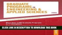 Best Seller Grad Guides BK5: Engineer/Appld Scis 2009 (Peterson s Graduate Programs in
