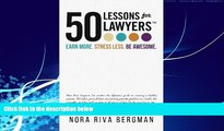 Big Deals  50 Lessons for Lawyers: Earn more. Stress less. Be awesome.  Best Seller Books Most