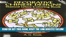 [FREE] EBOOK Decorative Chinese Designs Stained Glass Coloring Book (Dover Design Stained Glass