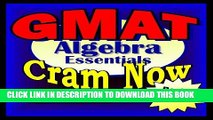 Ebook GMAT Prep Test ALGEBRA REVIEW Flash Cards--CRAM NOW!--GMAT Exam Review Book   Study Guide