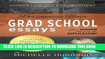 Best Seller Personalize Your Grad School Essays: Be a person not just an application! And other