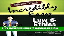 [FREE] EBOOK Medical Assisting Made Incredibly Easy: Law and Ethics BEST COLLECTION