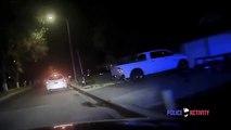 2 flics se font tirer dessus pendant une course poursuite