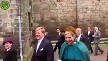 Quand le Roi des Pays-Bas fait un DAB pour saluer la foule