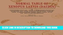 Ebook Normal Table of Xenopus Laevis (Daudin): A Systematical   Chronological Survey of the