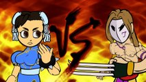 Street Fighter V's Weird Fighting Styles (Street Fighter V Cartoon Animation)