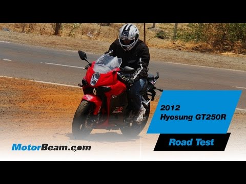 2012 Hyosung GT250R Road Test