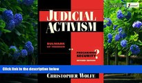 Books to Read  Judicial Activism  Best Seller Books Most Wanted