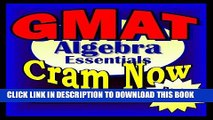 Best Seller GMAT Prep Test ALGEBRA REVIEW Flash Cards--CRAM NOW!--GMAT Exam Review Book   Study