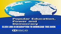 [Free Read] Popular Education, Power and Democracy: Swedish Experiences and Contributions Free