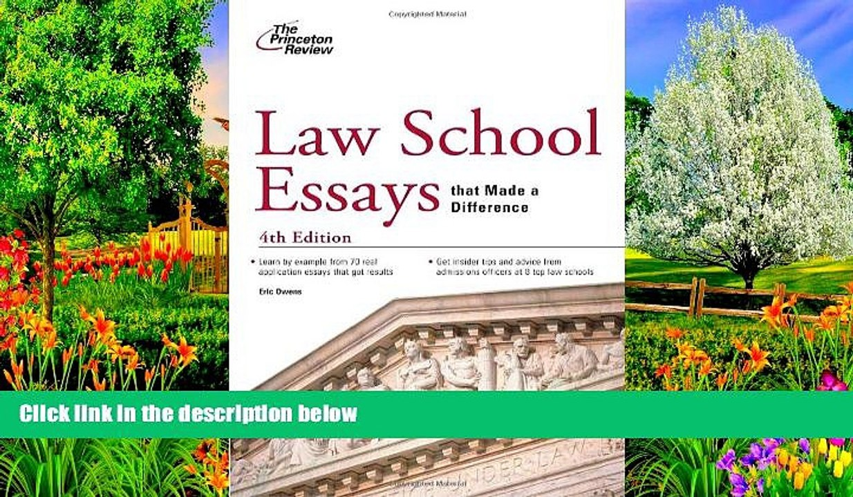 4th edition How to Get Into the Top Law Schools