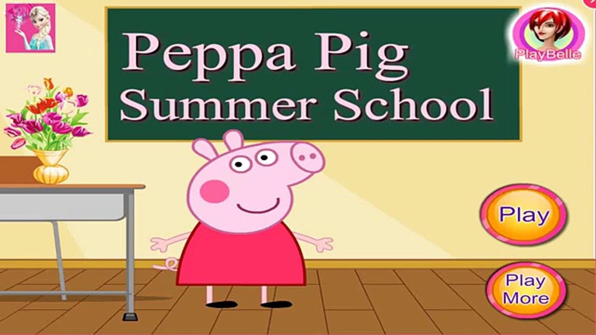 Peppa Pig Summer School | Peppa Pig Education Tools For Kids