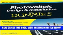 [EBOOK] DOWNLOAD Photovoltaic Design and Installation For Dummies PDF