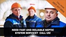 Septic System and Tank Maintenance | Orlando, FL | Call Us (407) 357-0004