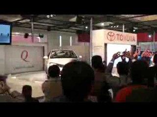 Toyota Etios World Launch At 2010 Auto Expo