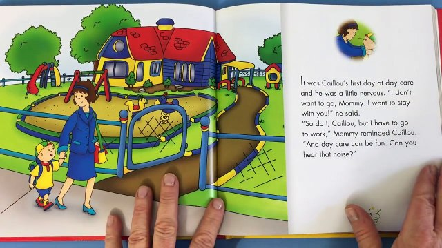 Caillou Books: My Day Care Friends - Book Reading for Kids | Cartoon for Kids