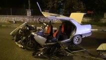 Bursa - Asker Eğlencesine Giderken Kaza Yaptılar: 2 Ölü, 3 Yaralı