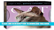 Best Seller Cat Page-A-Day Gallery Calendar 2017 Free Read