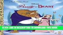 Best Seller Beauty and the Beast (Disney Beauty and the Beast) (Little Golden Book) Free Read