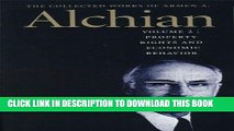 [Ebook] The Collected Works of Armen A. Alchian: Volume 2 CL (Works of a Armen Albert Alchian)