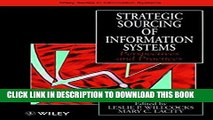Collection Book Strategic Sourcing of Information Systems: Perspectives and Practices